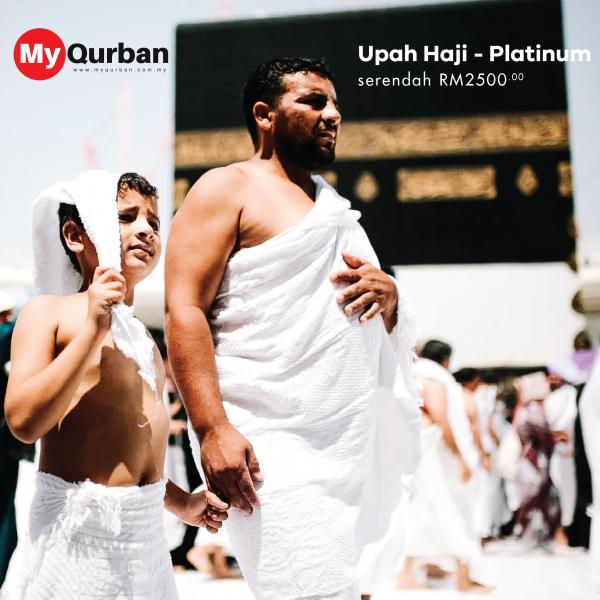 Upah Haji MyQurban - Pakej Platinum
