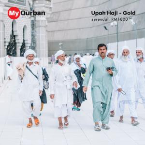 Upah Haji MyQurban - Pakej Gold